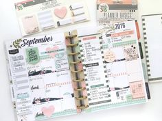 September Planning by @maldonadomas for #mambi #meandmybigideas #planner #planning #thehappyplanner