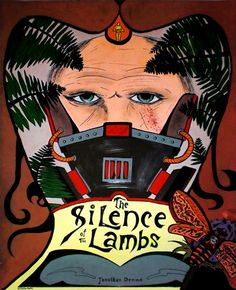 The Silence of the Lambs - Art Nouveau Style