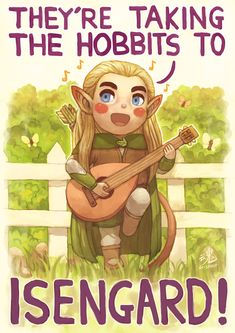 They Re Taking The Hobbits To Isengard By Ry Spirit On Deviantart Legolas And Thranduil The Hobbit Lotr