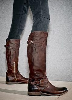FRYE Women's Veronica Zip Boot | Heels, Sandals, Boots & Shoes, Oh ...