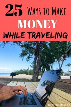 Are you looking for creative ways to make money while traveling? Do you want to travel more with your family, but are unsure how you and earn money to pay your way? Read our top 25 ways that you can make money online, from home, or while traveling! Make Money Traveling, Travel Money, Travel Usa, Travel Tips, Time Travel, Budget Travel, Travel Packing, Merida, Travel With Kids