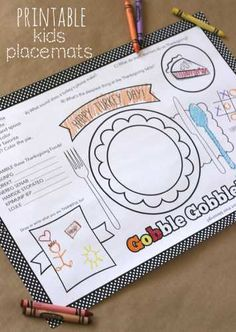 Whether you are hosting your own party, visiting someone else's or simply going to a Restaurant, these FREE printable Thanksgiving place-mats are sure to be a hit. Don't be fooled into …