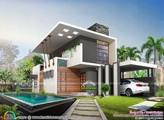 #contemporary #house #houseplan #home #architecture