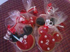 Mickey Mouse Cookie Favors