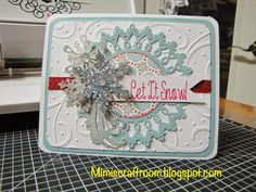 Close to my Heart Snowhaven paper, see more information on my blog, mimiscraftroom.blogspot.com