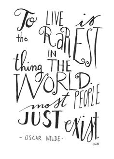Live Quote Life Quote Adventure Quote Oscar by heytheredesign #Artist #Paintings #Quotes