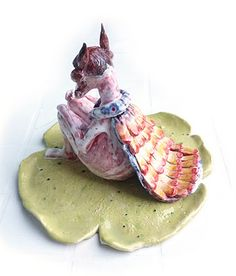 Syropella. Ceramic by Mirella Musri Www.mirellamusri.com.ar