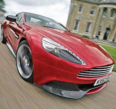 Hold on tight Aston Martin Vanquish #CarFlash