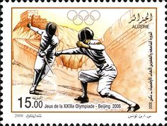 29èmes jeux olympiques de Beijing 2008 DZ N° 023.08 le 23 juillet 2008 | philatelyfriend Timbre Collection, Stamps, Movie Posters, Olympics, Olympic Games, World, Seals, Film Poster, Popcorn Posters