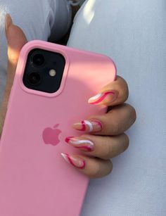 Diy Phone Case, Cute Phone Cases, Iphone Cases, Bad Girl Aesthetic, Pink Aesthetic, Maquillage On Fleek, Money Girl, Girly Images, Rose Nails