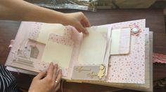 Скрапбукинг: обзор альбома для девочки первого года жизни своими руками
