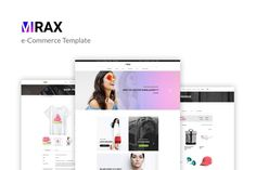 Mirax - eCommerce PSD Template by torbara on Envato Elements Psd Templates, Design Templates, Look Man, Web Ui Design, Magazine Template, Icon Font, Website Template, Designs To Draw, Ecommerce
