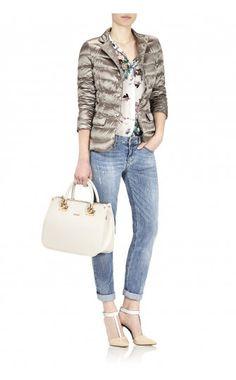Liu Jo accessori primavera estate 2015: borse, bracciali, portachiavi e tanto altro Liu Jo shopping medium quadrata Anna 145.00 euro