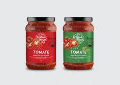 Tomato Sauce Organics Mariani on Packaging of the World - Creative Package Design Gallery