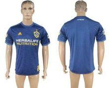 Los Angeles Galaxy Blank Away Soccer Club Jersey