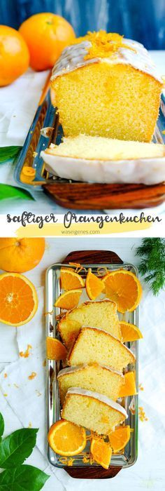 Rezept: saftiger Orangenkuchen