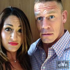 New Surprised Selfie from John Cena and Nikki Bella http://dailywrestlingnews.com/?p=66084
