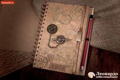 Мужской блокнот в стиле стимпанк | Уроки творчества | Леонардо хобби-гипермаркет - сделай своими руками