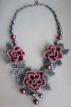 Beaded jewelry by Elina Ivanova