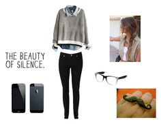 """""""my sexy nerd"""" by araceli-directioner ❤ liked on Polyvore featuring Louche, Jeepers Peepers, women's clothing, women, female, woman, misses and juniors"""