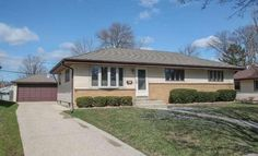 *SOLD* 6316 W Kinnickinnic River PARK MILWAUKEE, WI; $165,000, MLS#1469850. Tons of natural light & lots of RM! 3BR/1.5BA 2.5car GA Ranch home feat. LRG KIT w/dinette open to the HUGE 3-season sunroom. Oak HWF nearly throughout, Rec Rm & LL feat. LRG open space & 1/2BA. Spacious RM sizes; updated KIT, large fenced-in yard. Newer mechanicals incl. Furnace/AC '07; roof ~10yrs old, wtr htr '15. Tons of bsmnt storage areas! Great location- walking distance to schools;  well-cared for!
