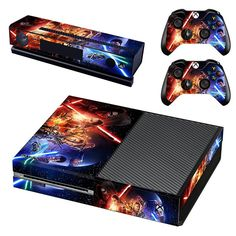 Love this!  http://www.hellodefiance.com/products/force-awakens-skin-xbox-one-protector?utm_campaign=social_autopilot&utm_source=pin&utm_medium=pin