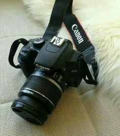 Câmera Canon  #câmeras #Love #amor #fotografia  Fonte de : www.weheartit.com.br