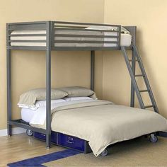 bunkbed over platform on wheels?