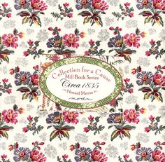 """Collection for a Cause Mill Book Series Circa 1835 Layer Cake - """"The Quilted Crow Quilt Shop, folk art quilt fabric, quilt patterns, quilt kits, quilt blocks"""