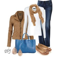 """""""Blue Tote"""" by s-p-j on Polyvore"""