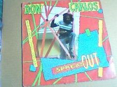 DON CARLOS-SPREAD OUT-IN A DANCE HALL STYLEE-RAS RECORDS-1983-RARE EDITION-LP-VG