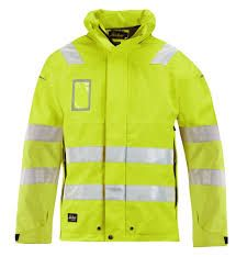 VISITOR Hi-Vis High-Viz Visibility Safety Vest Waistcoat EN471Yellow /& Orange
