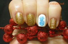 Nicole by OPI 'Glitter In My Stocking'
