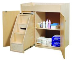 3090a73 Infant Changing Table Assembled Changing