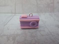 Tiny Camera Charm | RolyPoly Charms Tiny Camera, Diy Clay, Clay Charms, Clay Ideas, Charmed, Clay