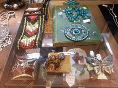 New jewelry stock at the Op Shop, Christ Church,  Brunswick