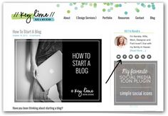How to install the best social media icon plugin for WordPress  #tutorial #bloggingtips #wordpress