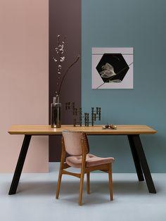 Stoły designerskie inspiracja - take me HOME  http://takemehome.pl/stoly-i-biurka/294-nowoczesny-stol-mezzo.html