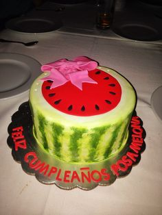 Watermelon Cake Recipe with Real Watermelon watermelon this cake