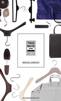 MISCELLANEOUS Smart Packaging, Fashion Packaging, Wooden Hangers, Cover