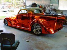 Hot Rod-what color do they call that?  Hot Wheels metallic red?