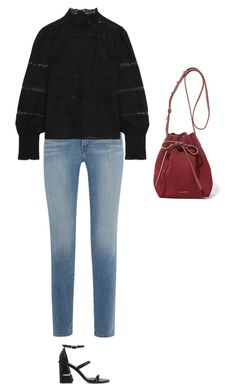 """Untitled #690"" by amyjonez on Polyvore featuring Frame Denim, Mansur Gavriel, Étoile Isabel Marant and TIBI"