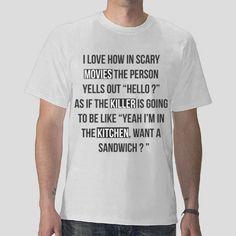 funny t shirt  movies  killer  kitchen Free Vector