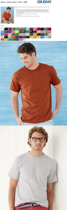 T-Shirts 15687: 35 Gildan G500 Heavy Cotton T-Shirt Wholesale Bulk Lot Ok To Mix S-Xl And Colors -> BUY IT NOW ONLY: $69 on eBay!