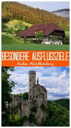 Tips for special destinations in Baden-Württemberg: Black Forest, Swabian Alb, Schönbuch and around Stuttgart, which you should not miss! Solo Travel Europe, Camping Europe, Travel Around Europe, Go Camping, Camping Ideas, Europe Destinations, Holiday Destinations, Vacation Places, Places To Travel