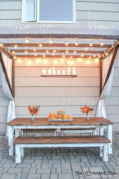 Make Your Own Pergola countryliving