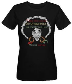 Rhinestone T-shirts, African American T-shirts.TTK212BD..Beautiful Rhinestone. Take the Kinks out of your mind....FREE SHIPPING! by ARTISTICTEES3 on Etsy https://www.etsy.com/listing/209320778/rhinestone-t-shirts-african-american-t