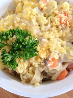 No-Yolks Creamy Chicken Noodle Casserole from allrecipes.com #AllstarsNoYolks  #onlynoyolks
