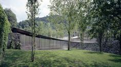 Key projects by Pritzker Prize 2017 winner RCR Arquitectes: Les Cols Restaurant Marquee, Olot, Girona, Spain Contemporary Architecture, Landscape Architecture, Architecture Design, Landscape Design, Spanish Architecture, Amazing Architecture, Key Projects, Architect Magazine, Richard Serra