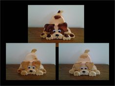 Puppy Banks - Three banks for great grand kids....I tried to make them all a bit different.